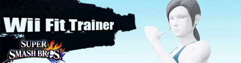 Banner Wii Fit Trainer Nr 8 - Super Smash Bros series