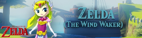 Banner Zelda The Wind Waker - The Legend of Zelda Collection