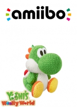 /Green Yarn Yoshi - Yoshi's Woolly World series voor Nintendo Wii U