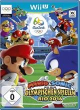 Mario & Sonic op de Olympische Spelen Rio 2016 met Duitse Kaft voor Nintendo Wii U