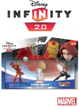 Marvel's The Avengers Play Set: Iron Man & Black Widow - Disney Infinity 2.0 voor Nintendo Wii U