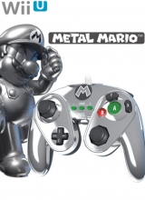 Nintendo Wii U Wired Fight Pad - Metal Mario voor Nintendo Wii U