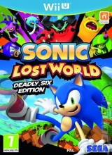 Sonic Lost World: Deadly Six-Editie voor Nintendo Wii U