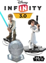 Star Wars Rise Against the Empire Play Set: Luke Skywalker & Princess Leia - Dinsey Infinity 3.0 voor Nintendo Wii U