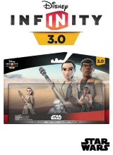Star Wars The Force Awakens Play Set: Rey & Finn - Disney Infinity 3.0 voor Nintendo Wii U