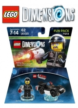 The LEGO Movie Bad Cop - LEGO Dimensions Fun Pack 71213 voor Nintendo Wii U