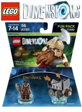 The Lord of the Rings Gimli - LEGO Dimensions Fun Pack 71220 in Doos Nieuw voor Nintendo Wii