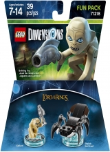 The Lord of the Rings Gollum - LEGO Dimensions Fun Pack 71218 in Doos voor Nintendo Wii U
