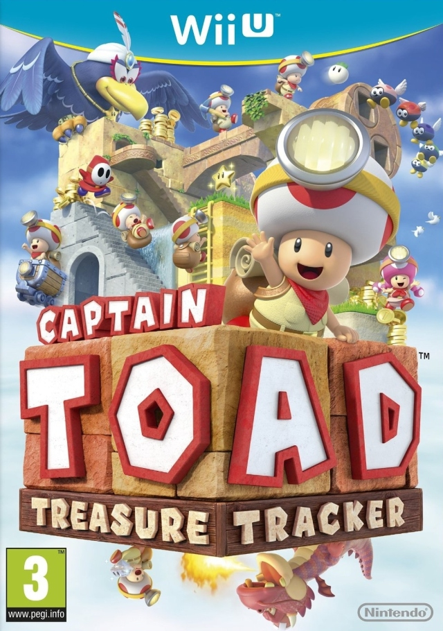 Boxshot Captain Toad: Treasure Tracker