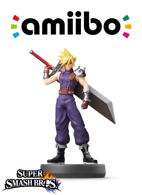 Boxshot Cloud (Nr. 57) - Super Smash Bros. series
