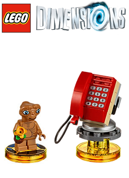Boxshot E.T. The Extra-Terrestrial - LEGO Dimensions Fun Pack 71258