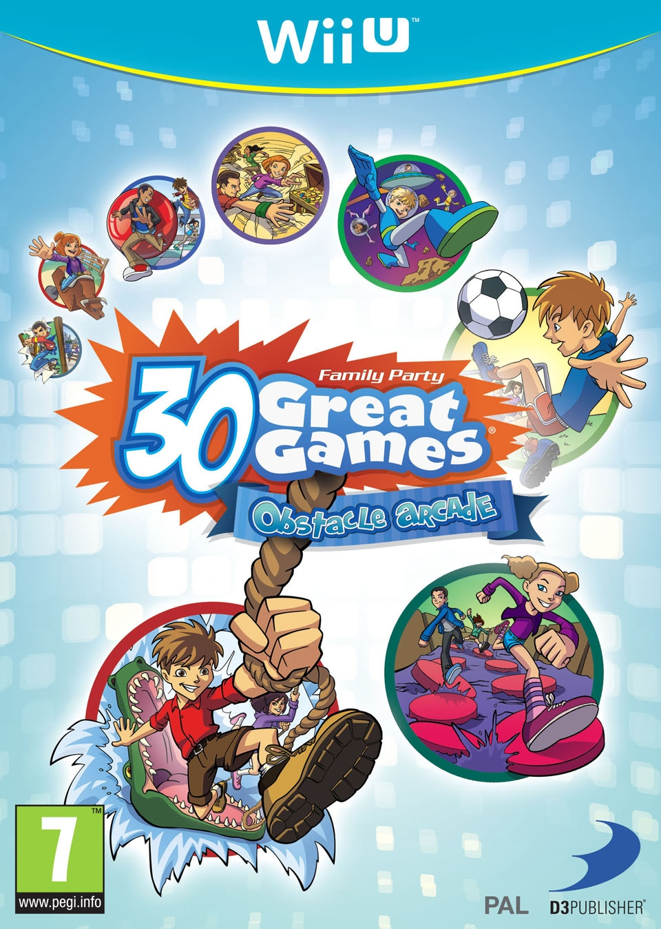 Boxshot Family Party: 30 Great Games Obstacle Arcade