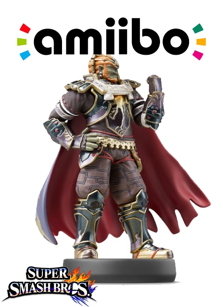 Boxshot Ganondorf (Nr. 41) - Super Smash Bros. series