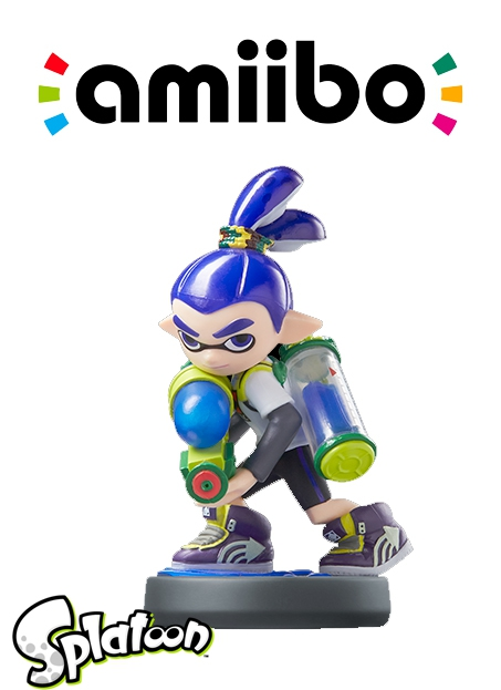 Boxshot Inkling Boy - Splatoon series