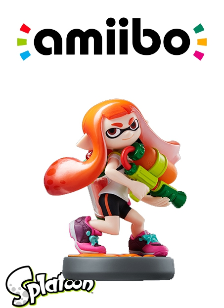 Boxshot Inkling Girl - Splatoon series