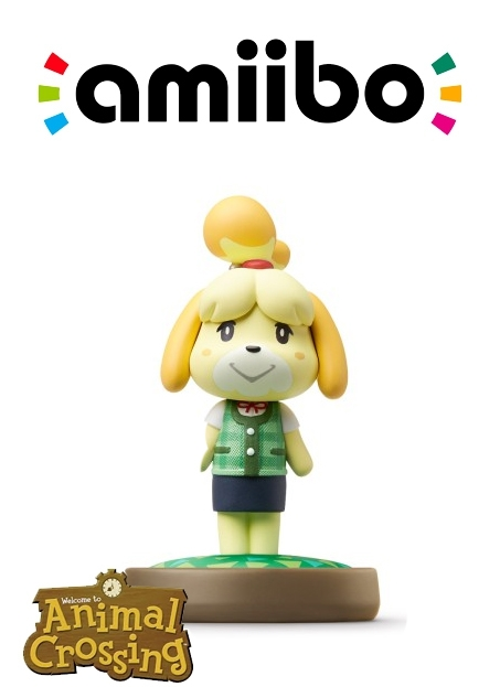 Boxshot Isabelle (Zomerkleding) - Animal Crossing Collection