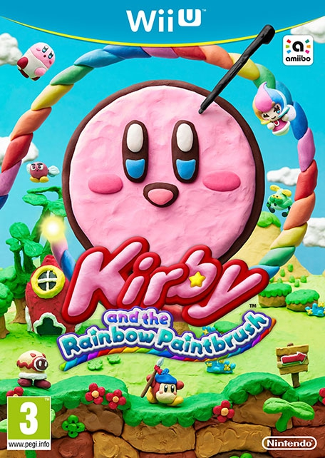 Boxshot Kirby and the Rainbow Paintbrush
