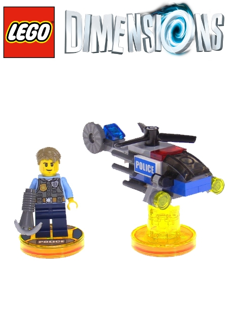 Boxshot LEGO City Chase McCain - LEGO Dimensions Fun Pack 71266