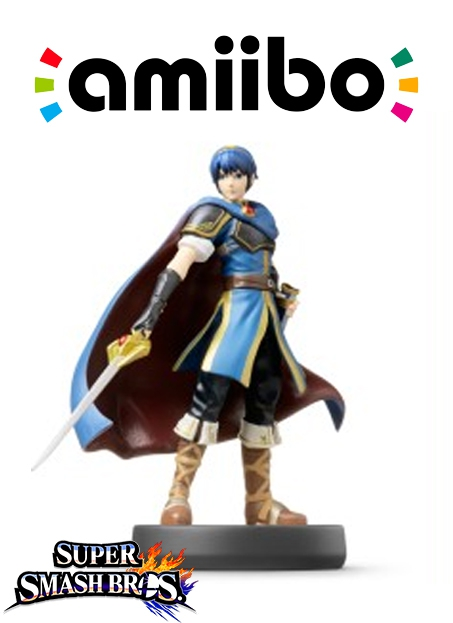 Boxshot Marth (Nr. 12) - Super Smash Bros. series