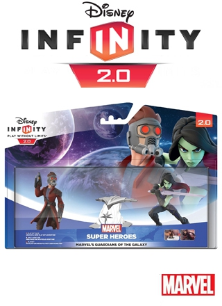 Boxshot Marvel's Guardians of the Galaxy Play Set: Star-Lord & Gamora - Disney Infinity 2.0