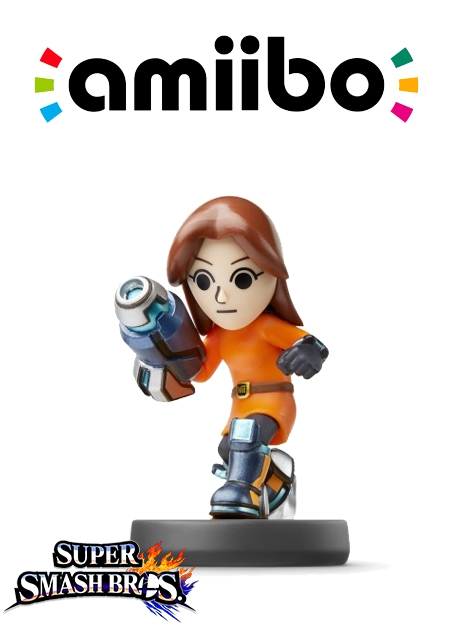 Boxshot Mii-cyborg (Nr. 50) - Super Smash Bros. series
