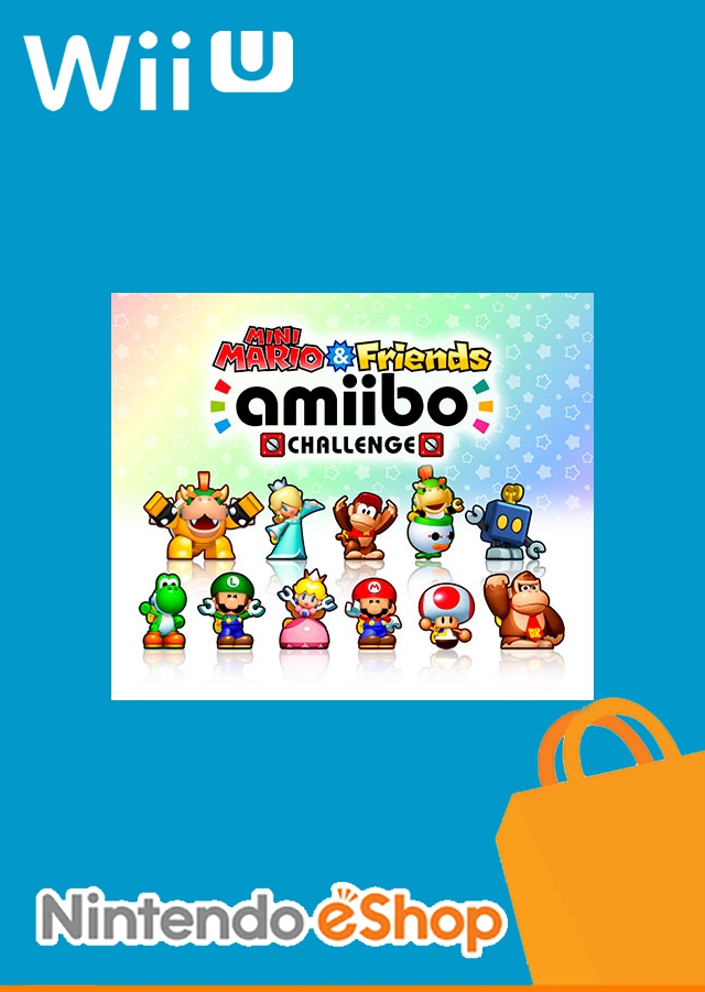 Boxshot Mini Mario & Friends: amiibo Challenge
