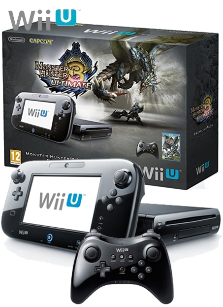 Boxshot Nintendo Wii U 32GB Premium Pack - Monster Hunter 3 Ultimate Limited Edition