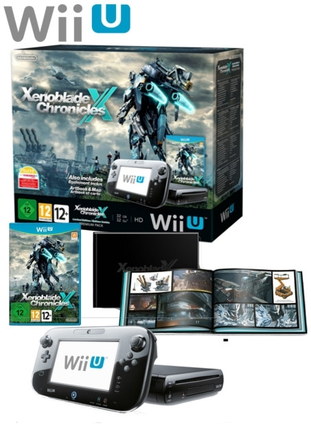 Boxshot Nintendo Wii U 32GB Premium Pack - Xenoblade Chronicles X Limited Edition