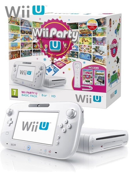 Boxshot Nintendo Wii U 8GB Basic Pack - Party U Edition