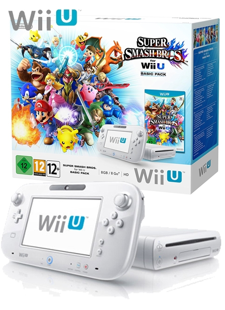 Boxshot Nintendo Wii U 8GB Basic Pack - Super Smash Bros. Edition