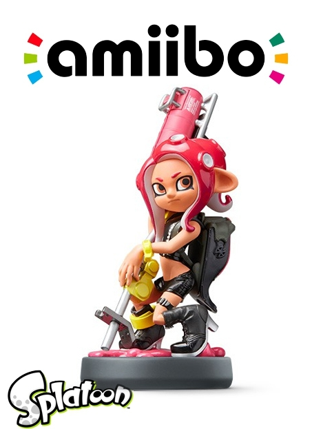 Boxshot Octoling-meisje - Splatoon series