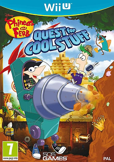 Boxshot Phineas and Ferb: Quest for Cool Stuff