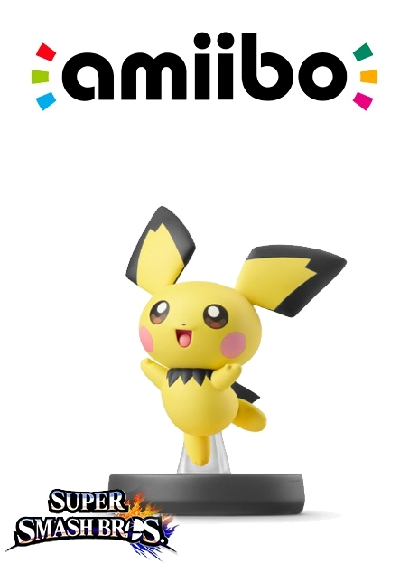 Boxshot Pichu (Nr. 72) - Super Smash Bros. series