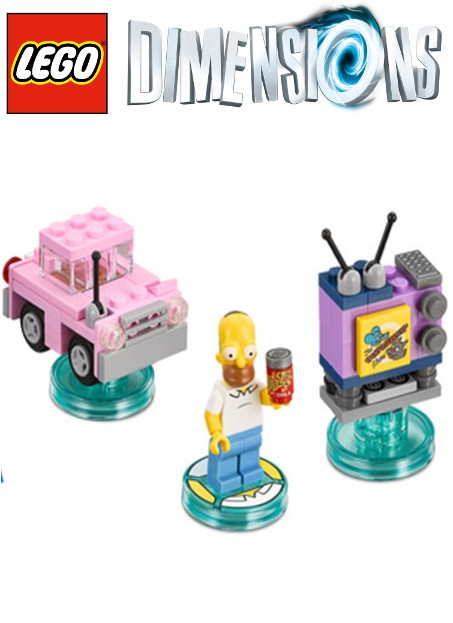 Boxshot Simpsons - LEGO Dimensions Level Pack 71202