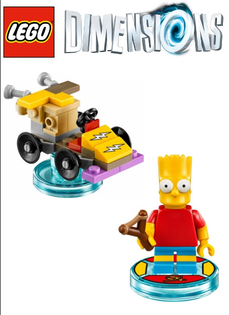 Boxshot Simpsons Bart - LEGO Dimensions Fun Pack 71211