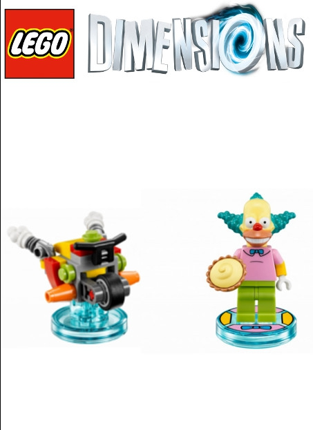 Boxshot Simpsons Krusty - LEGO Dimensions Fun Pack 71227