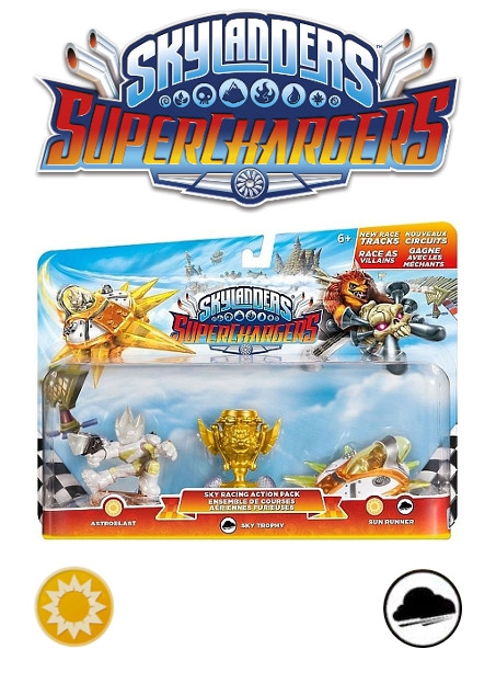Boxshot Sky Racing - Skylanders SuperChargers Action Pack