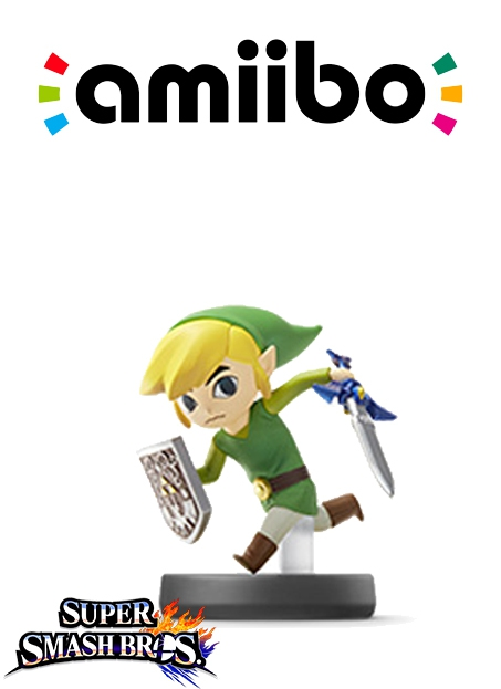 Boxshot Toon Link (Nr. 22) - Super Smash Bros. series