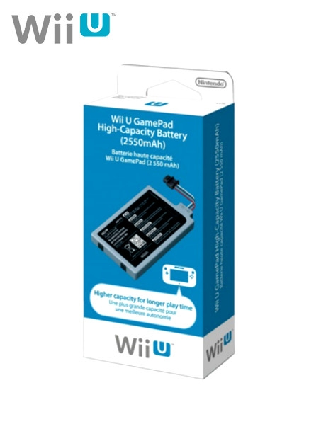 Boxshot Wii U GamePad High-Capacity Battery 2550mAH