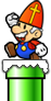 Sinterklaas Mario Wii U
