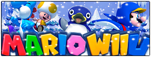 Logo Mario Wii U