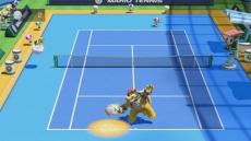 Review Mario Tennis: Ultra Smash: In de Rally mode moet je een zo lang mogelijke Rally volhouden met je tegenstander.