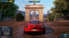 Review Need for Speed: Most Wanted U: In de online multiplayer word je met zes spelers in de stad gedropt waar je kan racen of uitdagingen kan aangaan: leuk, maar niet wereldschokkend.