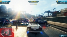 Review Need for Speed: Most Wanted U: Traditiegetrouw is ook weer de politie talrijk aanwezig om er een stokje voor te steken.
