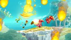 Review Rayman Legends: In de Wii U-versie is het mogelijk om je personage te verkleden in Mario of Luigi.