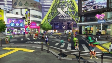 Review Splatoon: Inkopolis Plaza is de plek waar Inklings samenkomen. Vind Cap'n Cuttlefish in de putdeksel en begin aan de campaign...