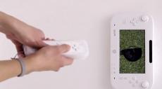 Review Wii Sports Club: Ook bij Golf biedt de GamePad een nieuwe spelervaring: leg hem op de grond, kijk naar je bal en sla hem weg met je Wii Remote!