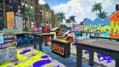 Zelfs op een resort als Mahi Mahi Resort hangen de Inklings rond. Zorg dat je niet in het water valt!