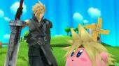 Sorry <a href = https://www.mariowii-u.nl/Wii-U-spel-info.php?t=Kirby_and_the_Rainbow_Paintbrush>Kirby</a>, Cloud Strife uit Final Fantasy heeft een groter zwaard. (DLC)
