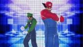 Forest en Heihachi als Luigi en Mario